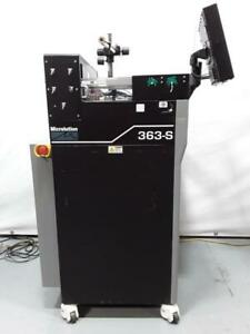 Microlution 363 s High Speed 3 axis Micro Milling Cnc Horizontal Machine