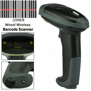 Usb Wifi Bluetooth Handheld Wireless Laser Barcode Scanner Scan Gun Reader
