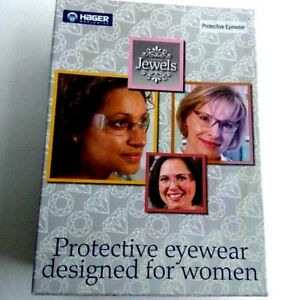 Hager Jewels Womens Dental Lab Protective Eyewear 3 Pair Boxed