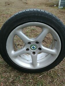 Racing Dynamics Rare Rgs Alloy Wheels 17 Set Of 4 With Tires E39 Bmw