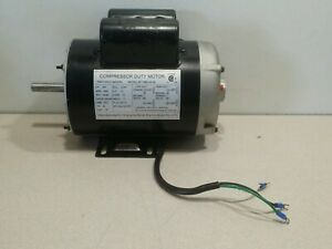 Shanghai Compressor Duty Electric Motor Mc019400av 1 Ph 3450 Rpm 120 240 Volt