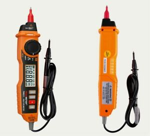 Digital Multimeter 2000 Counts Pen Type With Non Contact Acv dcv Electric Handhe
