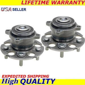 New Replacement Wheel Rear Hub Bearing Pair For Honda Odyssey 05 10