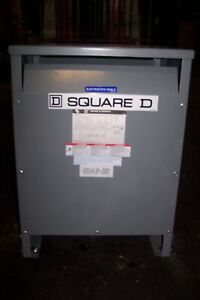 New Square D 15 Kva Transformer 208 Hv 208y 120 Lv 3 Phase Ee15t211hisnlp