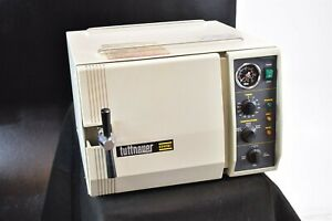 Tuttnauer 2340mk Dental Lab Autoclave Steam Sterilizer For Instruments