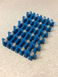 Magnetic Bead Separation Rack For 96 well Pcr Tube Plate Ampure Illumina