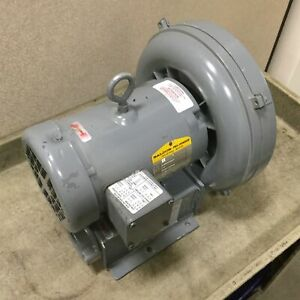Spencer Vb004b 010 Regenerative Blower Max Flow 72 Cfm Ports 1 1 4 Npt
