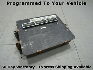 98 Jeep Grand Cherokee 4 0l Ecu Ecm Pcm Engine Computer 56044513ac 513 Prog Ak