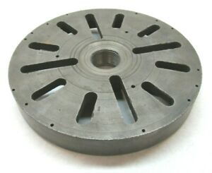 11 3 4 Lathe Face Plate W 2 8 Threaded Mount