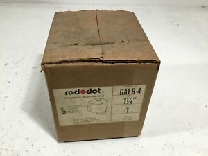 New Red Dot 1 1 4 Galb 4 Aluminum Conduit Fitting Junction Box
