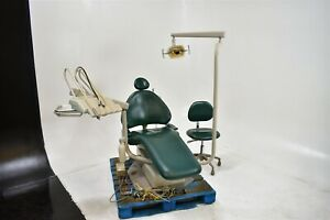 Adec 1040 Dental Exam Patient Chair W Operatory Delivery System Stool