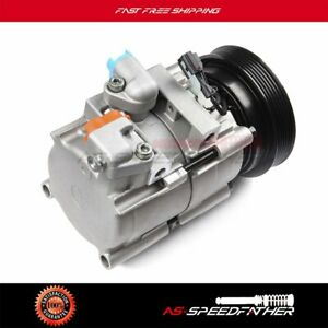 A C Compressor Withcluth For 2001 2002 2003 2004 2005 2006 Hyundai Santa Fe2 7l