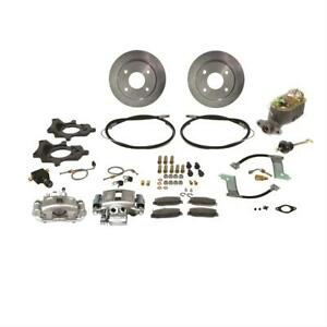 Ssbc Disc Brakes Rear Solid Rotors 1 Piston Calipers Ford Mustang 8 8 Kit
