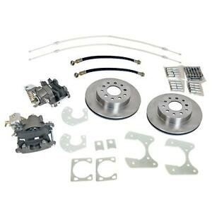 Summit Racing Rear Drum To Disc Brake Conversion Kit Sum Bk1627