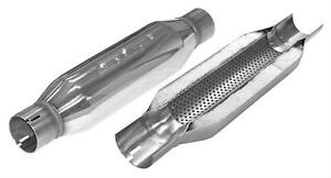 Slp Performance Muffler Loud Mouth Ii 3 Inlet 3 0 Outlet Stainless Polished Ea