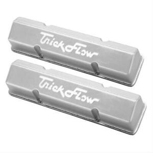 Trick Flow Cast Aluminum Valve Covers 31500802 Chevy Sbc 283 305 350 400