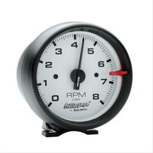 Autometer 2303 Tachometer Auto Gage 0 8000 Rpm 3 3 4 Analog Electrical Each