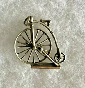 1979 Sterling Silver Miniature Pennyworth Bicycle Made In England