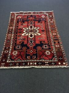 On Sale Hand Knotted Bakhtiar Hamadan Persian Rug Traditional Carpet 4 10 X6 8