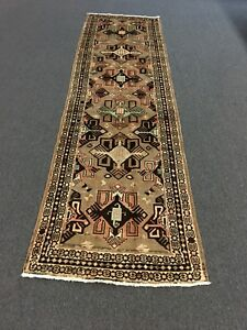 On Sale Beautiful Semi Antique Hand Knotted Rug Runner Carpet 2 11 X10 5 26436