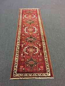 On Sale Great S Antique Hand Knotted Persian Gharajeh Rug Runner Carpet 2 3 X7 5