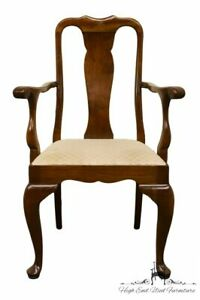 Stickley Furniture Solid Cherry Queen Anne Anniversary Dining Arm Chair