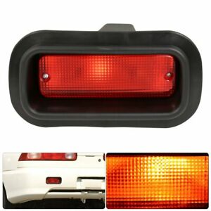 Red Lens Universal Jdm Edm Rear Fog Brake Stop Light Replacement Upgrade New Usa