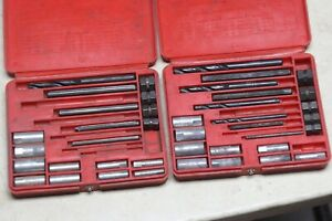 Snap On Blue Point 1020 Screw Extractor Set Lot Of 2