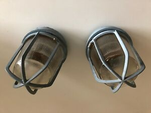 Two Crouse Hinds Brand Light Fixtures