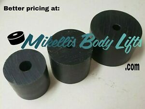 Body Lift Blocks Pucks 2 3 Diameter With Variety Of Lengths