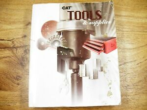 Cat Caterpillar Parts Tools And Supplies Catalog 1993