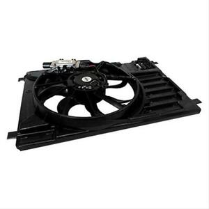 Fan Electric Single 8 Blades Black Shroud Ford Each