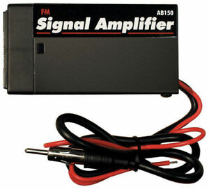 Am Fm Signal Booster Amp Amplifier Auto Car Antenna Aerial Radio Stereo Hidden