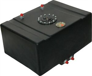 Rci 1160ds 16 Gallon Drag Race Fuel Cell With Sending Unit And 2 Sump Race Tank