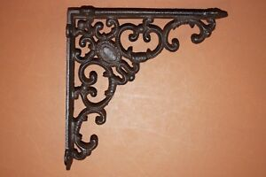 1 Pc Elegant Victorian Design Vintage Look Cast Iron Shelf Brackets 8 B 29