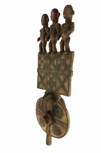 Bwa Mask With Hornbill Burkina Faso African Art 34 Inch