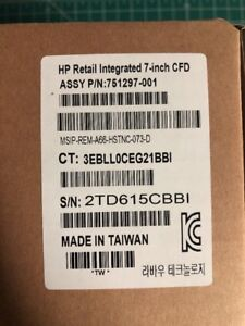 Hp Retail Integrated 7 Usb Powered Cfd Display For Pos 751297 001 754742 001