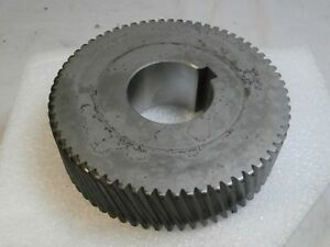 Steampunk Steel Helical Gear Machine Age Industrial Lamp Parts 5