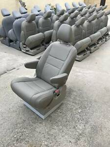 New Gray Leather Seats For Mercedes Sprinter Van Rv Or Shuttle Bus Motorhome