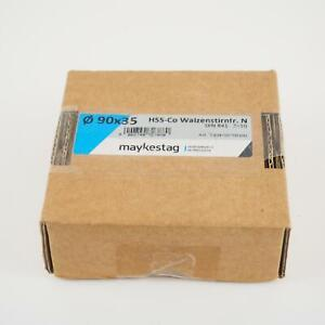 Maykestag Hss co Shell End Mill 90x35mm Z 10 Din841 New 3044009001