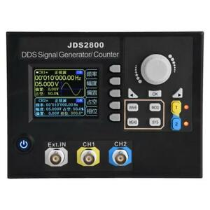 Jds2800 2ch 14 Bits Dds Function Arbitrary Waveform Signal Generator software Gh