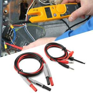P1600e Pluggable Multimeter Probe Test Lead Cable Car Probe Test Kit 15 in 1 Ghs