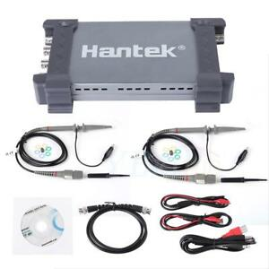 Hantek 6074bd Digital Oscilloscope 70mhz 1gsa s 4channel Arbitrary Waveform Ghs