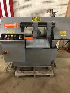 Marvel Model 916s Semi Automatic Horizontal Band Saw