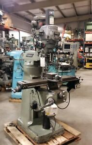 Bridgeport Series L Variable Speed Vertical Milling Machine inv 37155