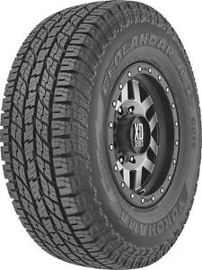 Tire Geolander G015 Lt265 75r16 Radial 3415 Lbs Load R Rated White Letters Each