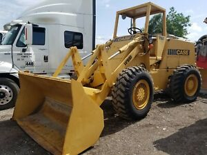 1980 Case W18 Wheel Loader 8k