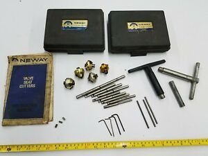 5 Cutters Neway Valve Seat Cutter Kit set 102 102a 102w 103 114 Case Handle