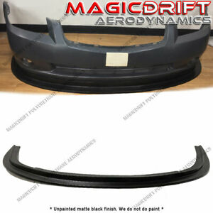 For 05 06 Nissan Altima 4dr Sedan Mda Style Front Bumper Chin Splitter Lip