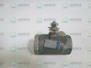 Neles jamesbury Ball Valve 1 1 2 A3600 Tt missing Handle new No Box